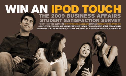 UCSD Survey Campaign, 2009
